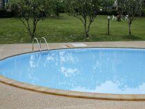 Calcul du volume d'une piscine ronde