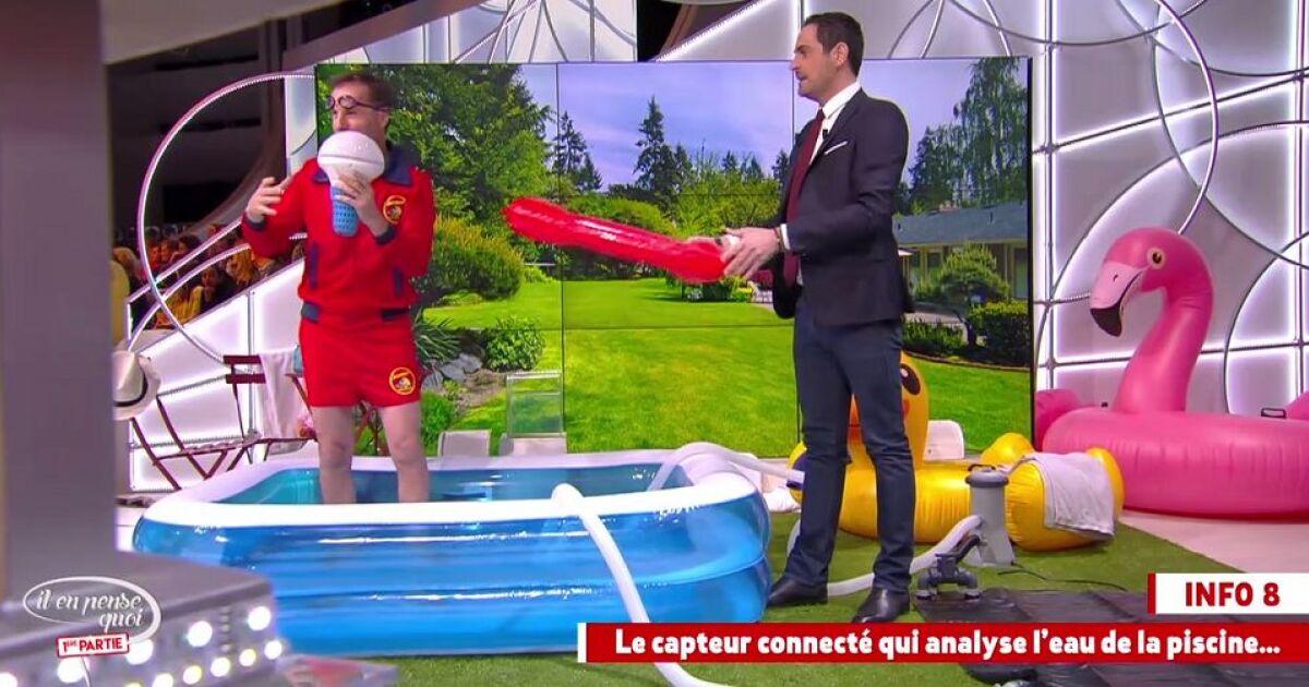 Il en pense quoi camille pour une piscine plus moderne cet t - Autour de la piscine photo villeurbanne ...