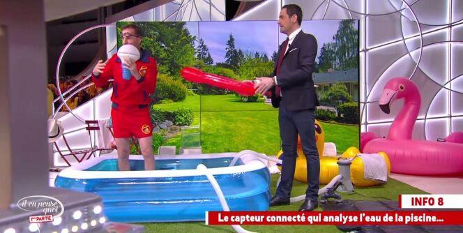 """Camille Combal et Jean-Philippe Doux présentent OFI<span class=""""normal italic petit"""">© Il en pense quoi Camille - via Dailymotion</span>"""