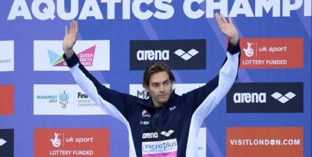 Camille Lacourt, champion d'Europe du 100m dos !