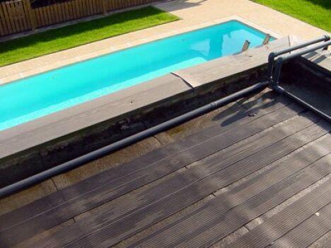 """Capteur solaire piscine Elios<span class=""""normal italic petit"""">© Technics & Applications</span>"""