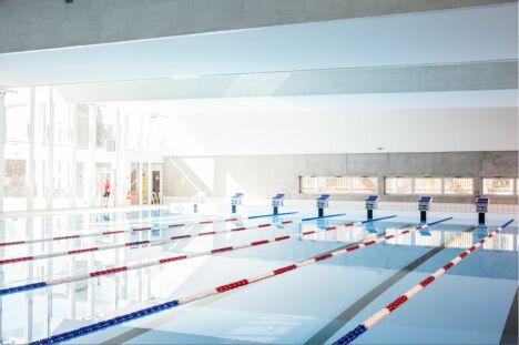 """Caséo : le bassin de 25m<span class=""""normal italic petit"""">DR</span>"""