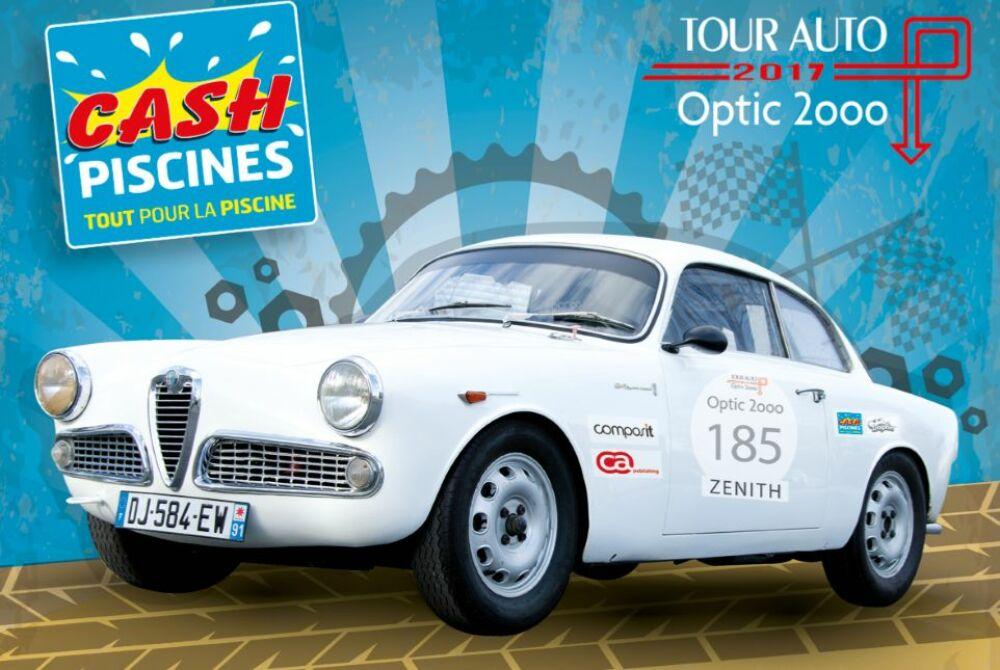 Cash Piscines au départ du Tour Auto Optic 2000© Cash Piscines