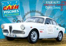 Cash Piscines représentée pour le Tour Auto Optic 2000