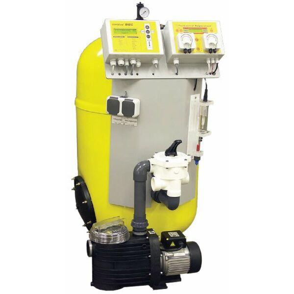 Centrale de filtration et d sinfection dinotec watercom for Infection urinaire et piscine