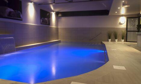 """Le bassin aquatique du centre Aqua Attitude à Reims<span class=""""normal italic petit"""">DR</span>"""