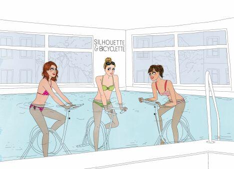 Centre aquabike Silhouette & Bicyclette à Marseille (8ème)