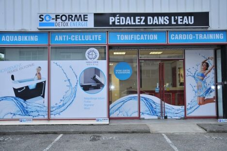 "Centre aquabike So Forme à Meythet<span class=""normal italic petit"">DR</span>"