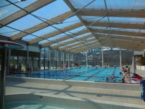 """Centre aquatique à Saint Bonnet en Champsaur<span class=""""normal italic petit"""">© Photo CCC</span>"""