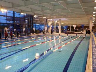 Centre aquatique à Auray : le bassin sportif