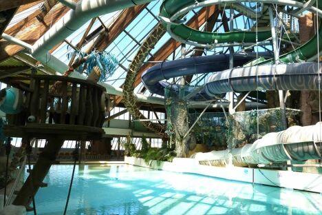 Centre aquatique Aqualud à Le Touquet-Paris-Plage