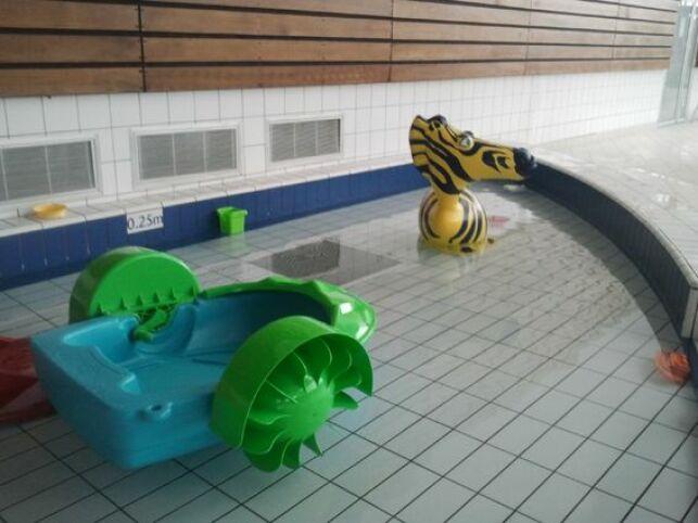 La pataugeoire pour les enfants au Centre Aquatique Aquavexin