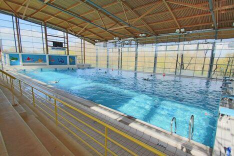 """Centre aquatique Atlantys à Saint Jean d'Angely<span class=""""normal italic petit"""">DR</span>"""