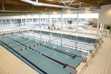 """Centre aquatique Aygueblue à Saint Geours de Maremne<span class=""""normal italic"""">DR</span>"""