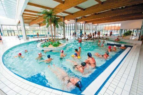 """Centre aquatique Aygueblue à Saint Geours de Maremne : un lieu de loisir pour toute la famille<span class=""""normal italic"""">DR</span>"""