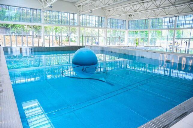 Centre aquatique de Noisy-le-Grand : le boule à vagues