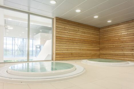 Centre aquatique de Noisy-le-Grand : le spa