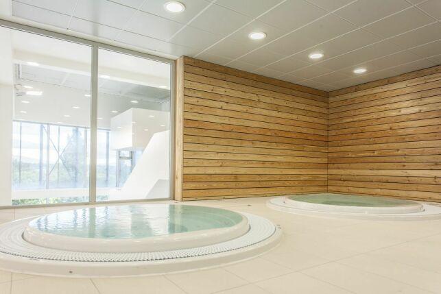 Centre aquatique de Noisy-le-Grand : le spa