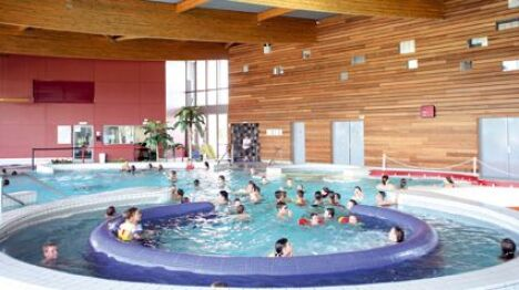 """L'espace ludique du centre aquatique de Sablé sur Sarthe<span class=""""normal italic petit"""">DR</span>"""