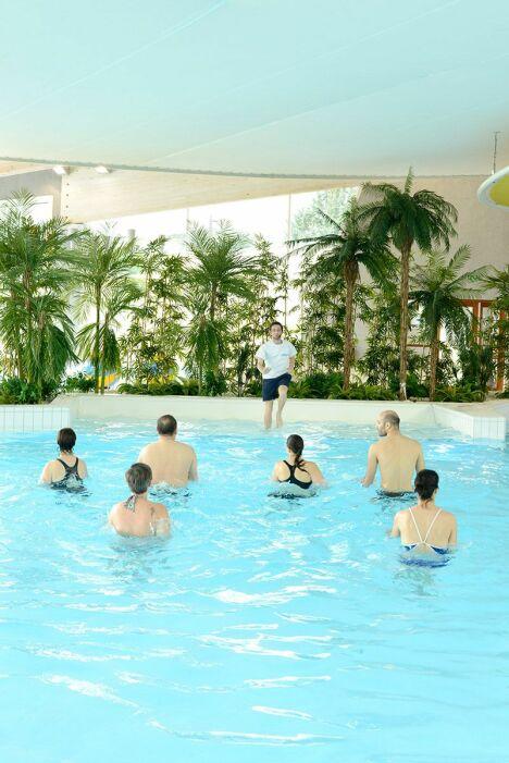 """De nombreuses activités aquatiques encadrées sont proposées à la piscine de Clermont l'Hérault<span class=""""normal italic petit"""">DR</span>"""