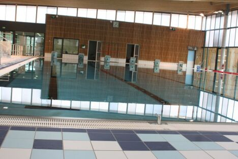 """Le bassin sportif du centre aquatique du Provinois à Provins<span class=""""normal italic petit"""">DR</span>"""