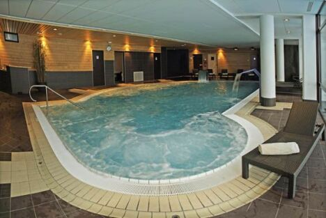 """L'Espace balnéo de la piscine Paradisio à Bellentre<span class=""""normal italic petit"""">DR</span>"""