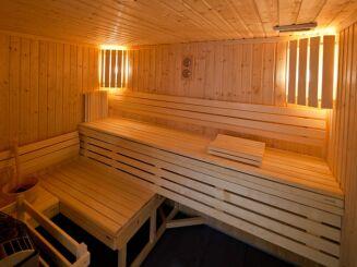 Le sauna de la piscine à Hayange