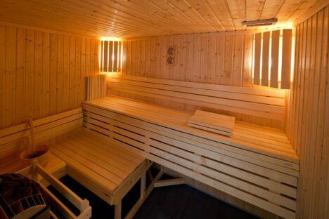 """Le sauna de la piscine à Hayange<span class=""""normal italic petit"""">DR</span>"""