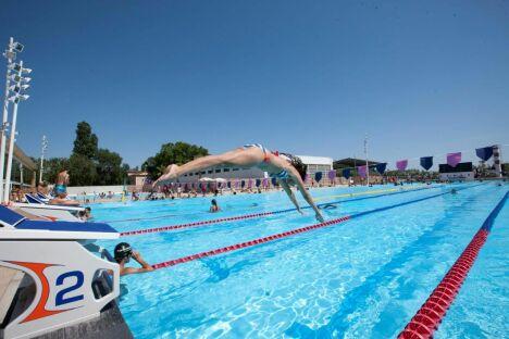 Centre aquatique grand bleu piscine cannes horaires for Centre du plateau piscine
