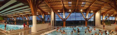 Les différents bassins de la piscine L'Ozen à Monistrol sur Loire
