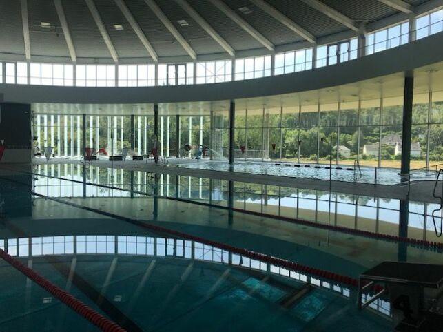 "Centre aquatique ""les bassins de l'Aulne"" à Châteaulin"