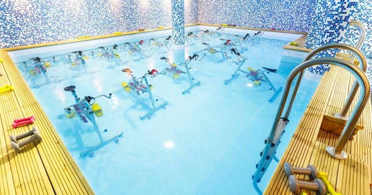 Centre d 39 aquabike aqua by paris horaires tarifs et for Aquabike piscine paris