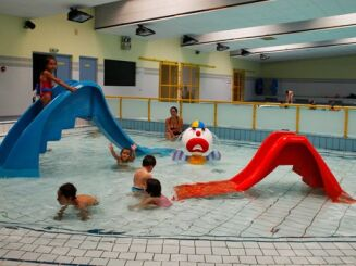 La pataugeoire intérieure de la piscine de Thionville