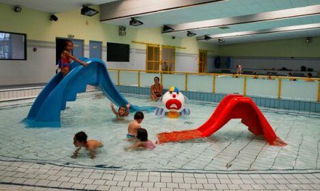"""La pataugeoire intérieure de la piscine de Thionville<span class=""""normal italic petit"""">DR</span>"""