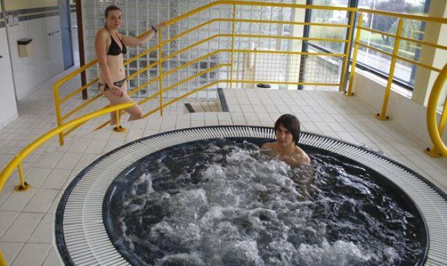 La jacuzzi de la piscine de Thionville
