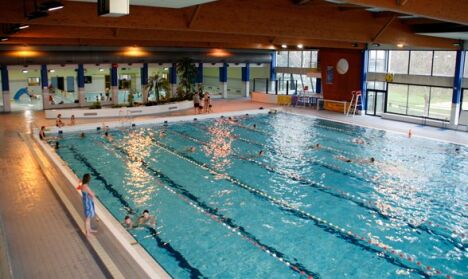 """Centre de Loisirs Nautiques de Thionville : la bassin de 25m.<span class=""""normal italic petit"""">DR</span>"""