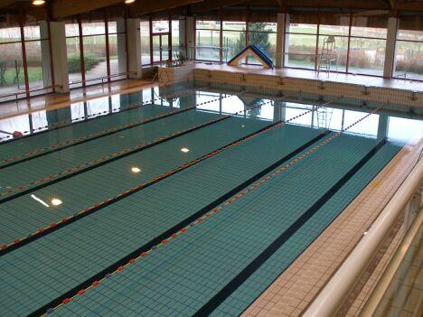 Le bassin sportif du Centre nautique Babylone à Villeneuve D'Ascq