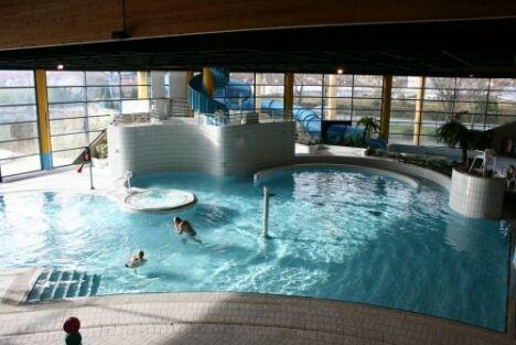 """Centre aquatique Aquaval à Gaillon<span class=""""normal italic"""">DR</span>"""