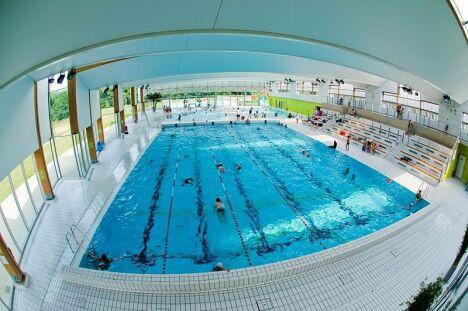 """Centre aquatique de Marne et Gondoire à Lagny-sur-Marne<span class=""""normal italic petit"""">DR</span>"""