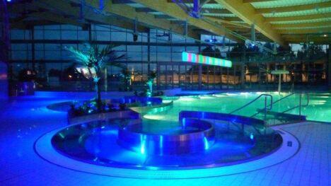 """Centre nautique La Vague à Soisy-sous-Montmorency <span class=""""normal italic"""">© La Vague</span>"""