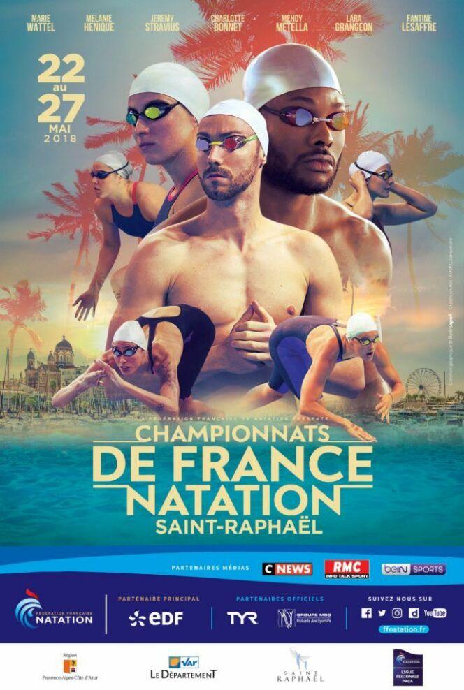 Championnats de France de Natation 2018 à Saint-Raphaël