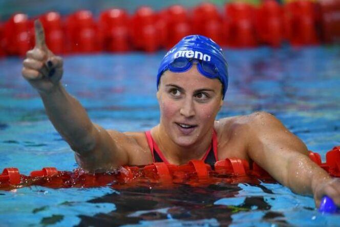 Charlotte Bonnet vient de réaliser une excellente performance sur le 200m NL.