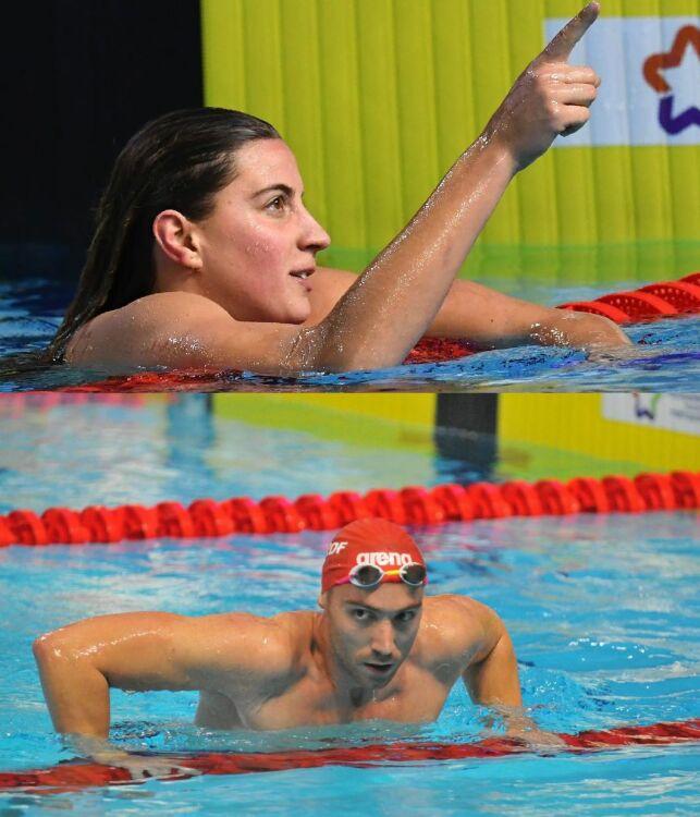 Charlotte Bonnet et Jérémy Stravius