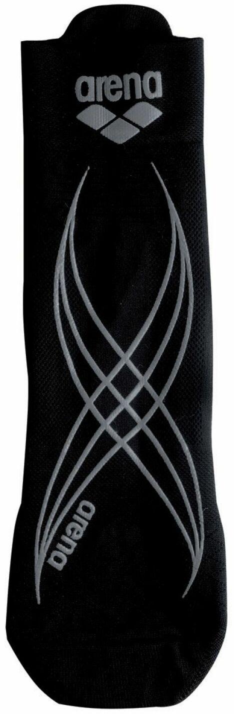 """Chaussette d'aquagym anti-dérapante noire et blanche Arena<span class=""""normal italic petit"""">© Arena</span>"""
