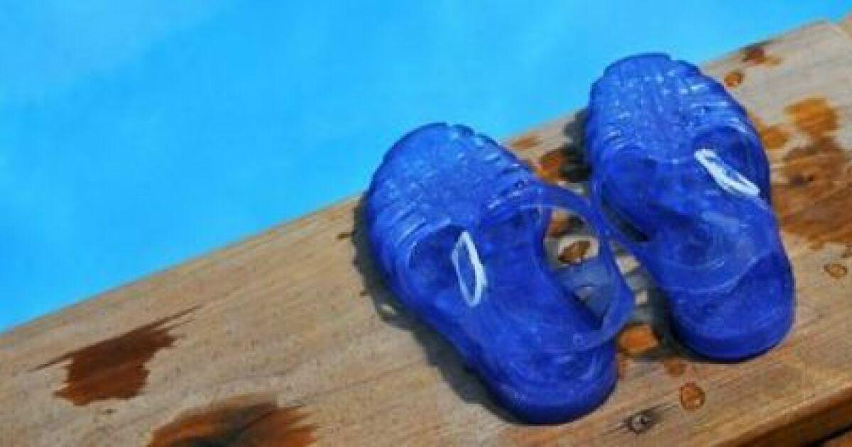 Chausson de piscine et de natation for Chaussons de piscine
