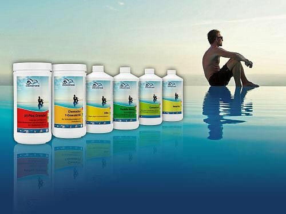Chemoform présente son guide pour le traitement de la piscine © Chemoform