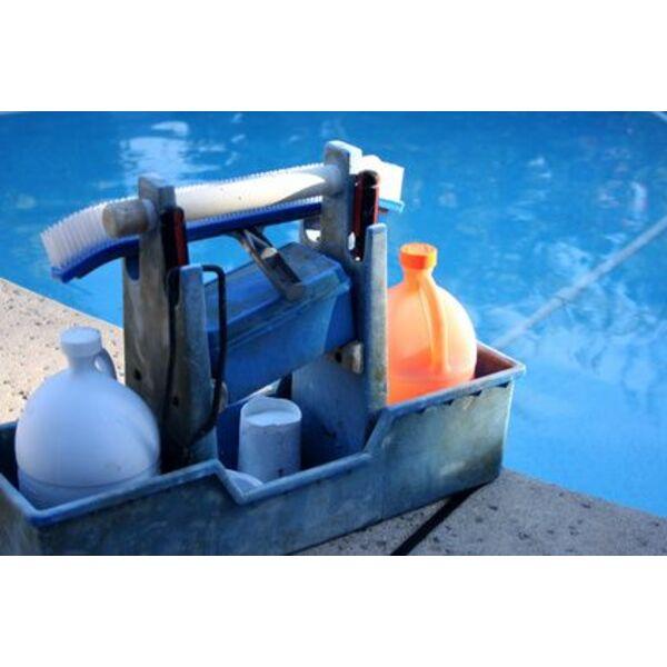 Chlore choc pour votre piscine for Traitement piscine chlore