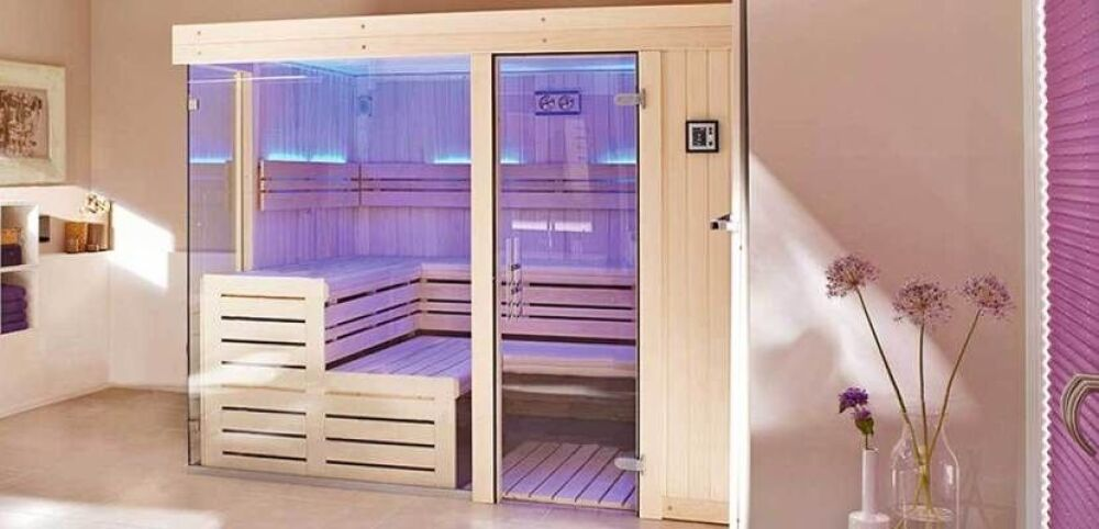 Chromo Zen : la chromothérapie dans votre sauna Clairazur© Clairazur