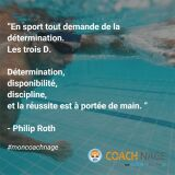 Se motiver pour aller nager : les citations Coach Nage en photos !