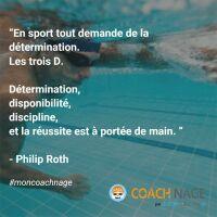 Se motiver pour aller nager : les citations Coach Nage en photos !